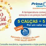 Promoção Combo Especial Prima Clean Lavanderia Express