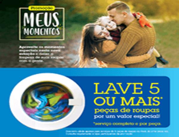 Prima Clean Lavanderia Express lança campanha para entrada do Outono.